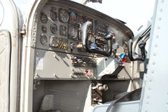View of cockpit of a X328 Atlas Angel Turbine specially equipped Stock Photo