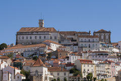 View from Coimbra Royalty Free Stock Images