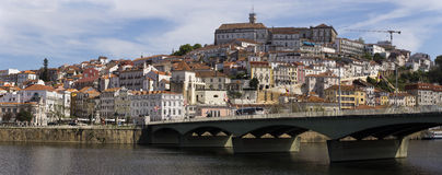 View Coimbra Portugal Royalty Free Stock Image