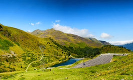 Col du Tourmalet Hautes Pyrenees, France Royalty Free Stock Photography