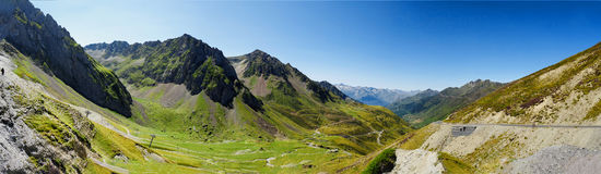 Col du Tourmalet Hautes Pyrenees, France Royalty Free Stock Photo
