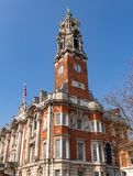 Colchester town hall and clock tower. stock photography