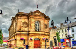 View of Coleraine town hall Royalty Free Stock Photography