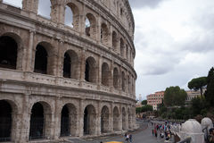 View of coliseum. View of the coliseum in Rome Stock Image