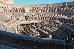 View of the Coliseum Stock Photo