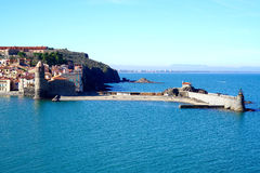 View of Collioure Stock Photo