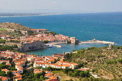 A view on Collioure Royalty Free Stock Image