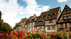View of Colmar stock images
