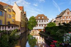 View of Colmar, Alsace, France Stock Photos