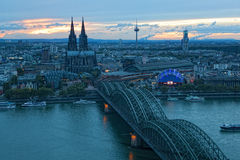 View of Cologne Stock Image