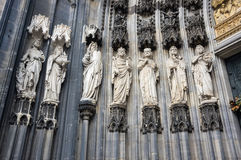View of Cologne Cathedral Stock Photography