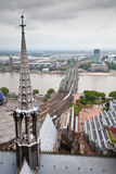 View of Cologne, Germany Royalty Free Stock Images