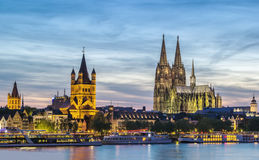 View of Cologne, Germany Stock Image