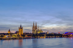 View of Cologne, Germany Royalty Free Stock Photos