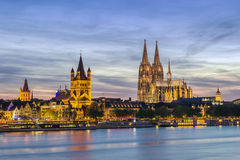 View of Cologne, Germany Stock Photos