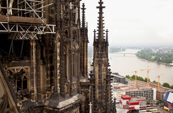 View of Cologne, Germany Stock Photography