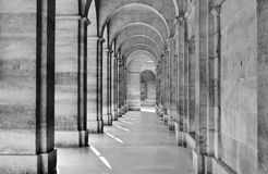 View of colonnade Royalty Free Stock Image