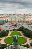 View from the colonnade of St. Isaac's Cathedral, St.Petersburg Stock Images