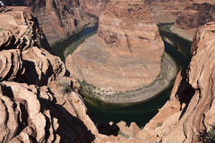 View of the Colorado River in Glen Canyon National Park, Utah, U Royalty Free Stock Photo