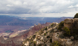 View of the Colorado River and Grand Canyon NP Royalty Free Stock Image