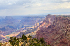 View of the Colorado River and Grand Canyon NP Royalty Free Stock Photos