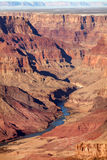 View of Colorado River at Grand Canyon Royalty Free Stock Photo