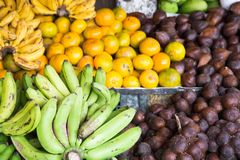 Some tropical fruit Stock Photography