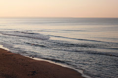 View of the colorful Baltic Sea at autumn. Royalty Free Stock Photo