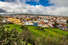 View on Colorful La Orotava City-Tenerife,Spain Stock Image