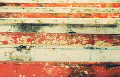 View of the colorful stairs shriveled Stock Photo