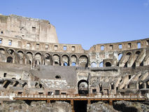 Coloseum inside. View of Coloseum inside  Rome Italy Stock Photos