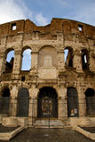 View of the coloseum in Rome Royalty Free Stock Images