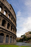 View of the coloseum in Rome Royalty Free Stock Photography