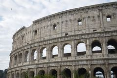 View of the Coloseum. Rome, italy - November 21, 2017 : View of the Colosseum in Rome Stock Images