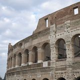 View of the Coloseum. Rome, italy - November 21, 2017 : View of the Colosseum in Rome Stock Photo