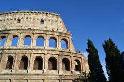 View of the Colosseum. Rome Stock Photos
