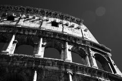 View of Colosseum in Rome at daytime Royalty Free Stock Photography