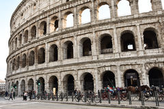 View of Colosseum Royalty Free Stock Photos
