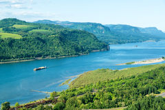 View of the Columbia River Royalty Free Stock Photography