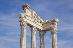 View of columns Royalty Free Stock Photos