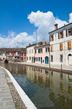 View of Comacchio. Emilia-Romagna. Italy. Stock Photography