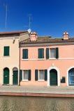 View of Comacchio, Ferrara, Emilia Romagna, Italy Stock Photos