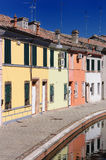 View of Comacchio, Ferrara, Emilia Romagna, Italy Royalty Free Stock Images