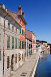 View of Comacchio, Ferrara, Emilia Romagna, Italy Royalty Free Stock Image