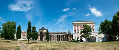 View on the Communs, the part of University of Potsdam Stock Photos