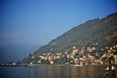 View of como, italy Royalty Free Stock Image