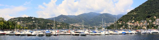 View on Como lake Royalty Free Stock Photography