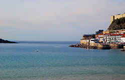 View of the Concha Bay, San Sebastian, Spain Stock Photo