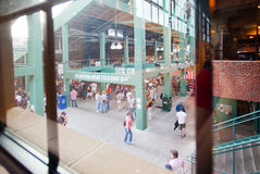 View of the concourse from Royal Rooters Club Stock Image