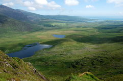 View from connor pass ireland Royalty Free Stock Image